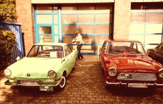 BMW 700LS Coupe Bj. 1965 und Ford P4 Coupe TS Bj. 1965